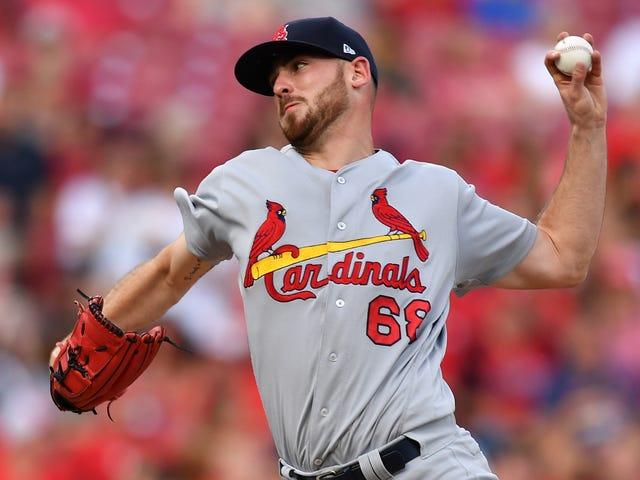 Cardinals Rookie's No-Hitter Broken Up By Fire Alarm, Joey Votto