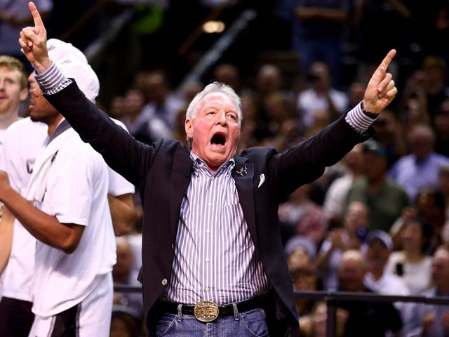 San Antonio Spurs Owner Steps Down, Wife Named Chairman And CEO