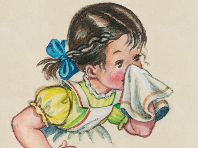 자녀에게 코를 날 리도록 가르치는 방법