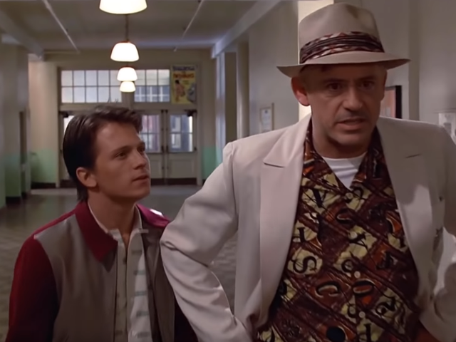 This Unsettlingly Accurate Deepfake Casts Tom Holland and Robert Downey, Jr. in Back to the Future