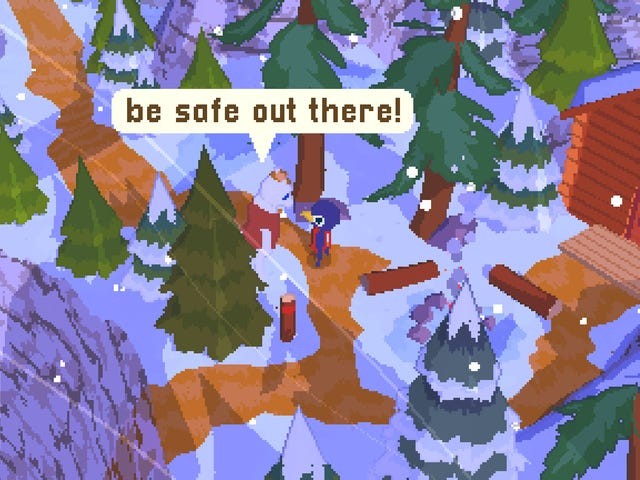 A Short Hike, a delightful indie game about climbing mountains and meeting cool people, is coming to