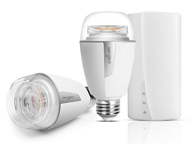 30% Off Sentiasa 60W Lampu Putih Mentol LED Tunable yang setara di Amazon