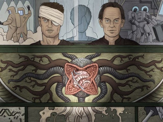 Dark Horse Is Turning William Gibson's Alien 3 Script Into a New Comic
