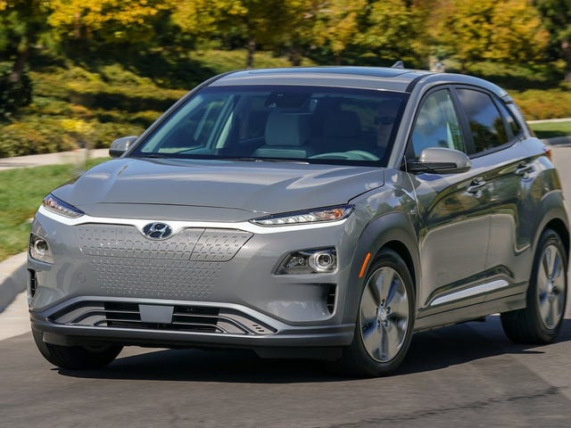 The Hyundai Kona EV Gets Rated at an Impressive 258 Miles of Range