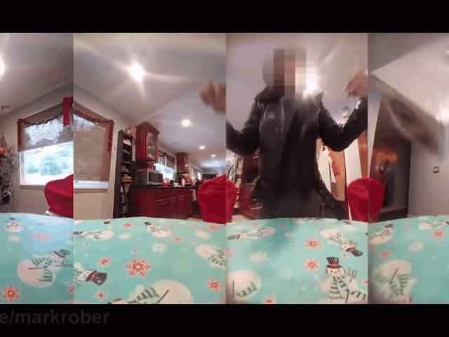 Vidéo virale de la bombe scintillante pour les voleurs de paquets exposée en tant que faux partiel <em></em><em></em>