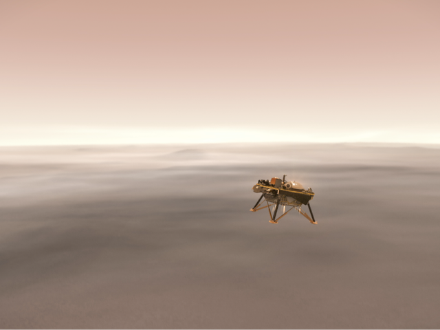Kijk hoe NASA de InSight-sonde land op Mars Live Hier [bijwerken]