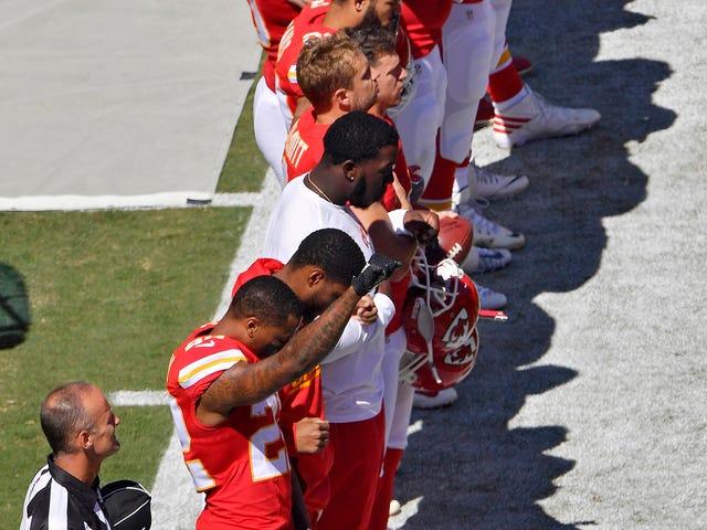 NFL-sunnuntai avautuu täyteen mielenosoitukseen