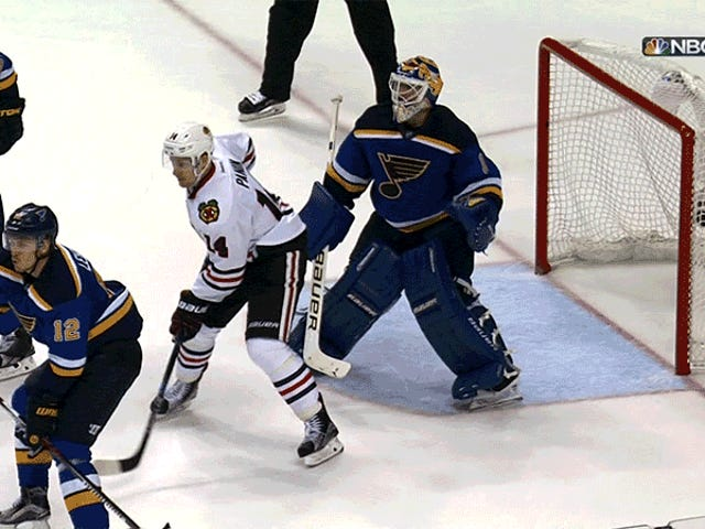 St. Louis Blues Eliminate Blackhawks Från Stanley Cup 'Yoffs