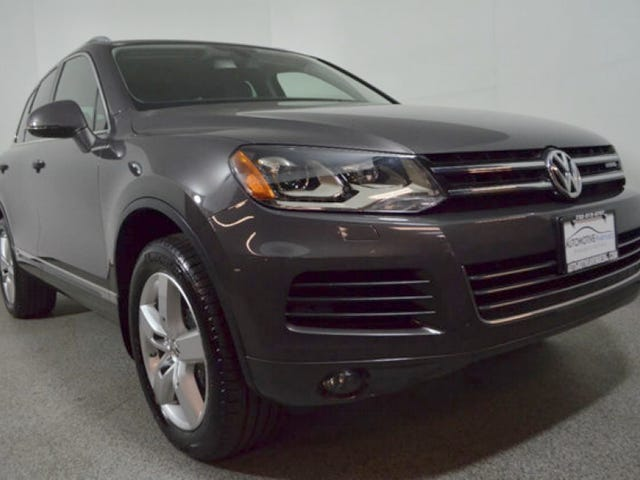 For $17,995, Would You Make Happy Memories In This 2011 VW Touareg Hybrid?