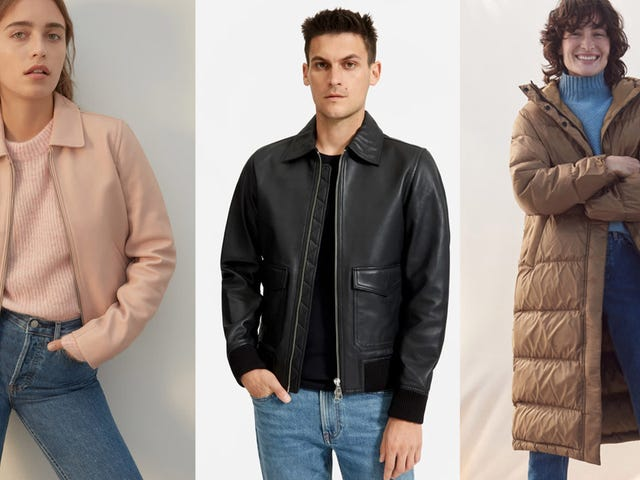 Everlane Just Released a Slew of New Outerwear