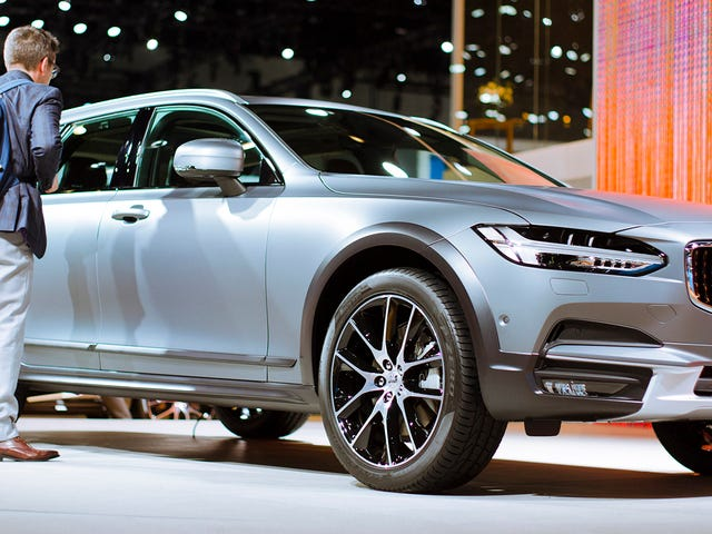 The Volvo V90 Cross Country Looks Remarkable In Person