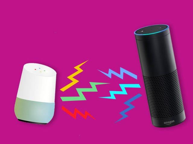 หน้าแรกของ Google กับ Amazon Echo: que gane el mejor