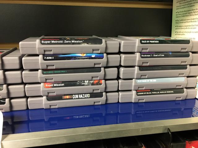 Super Metroid: Zero Mission en andere nette SNES Repro-karren