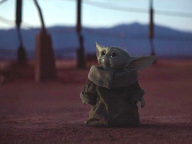 婴儿尤达(Yoda)的39纹身证明我们都痴迷于曼达洛人
