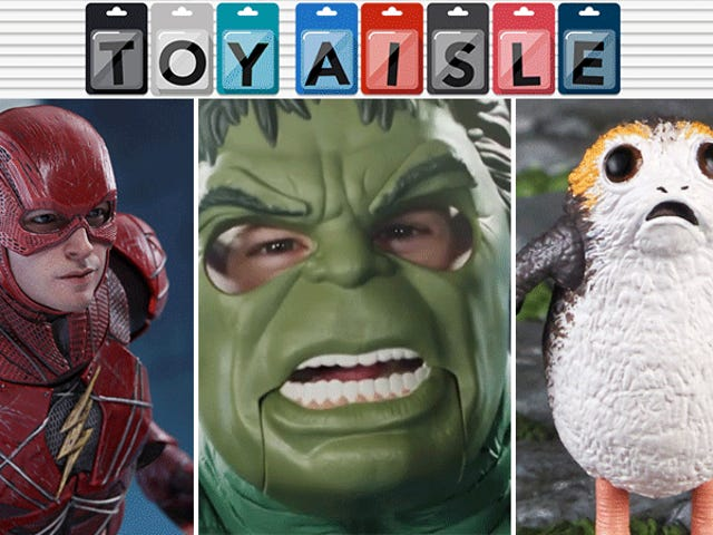 A Hilariously Animated Hulk Mask, and More of the Most Fun Toys of the Week