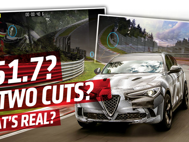 Alfa Romeo's Nürburgring SUV Record Lap Video Seems To Be Edited