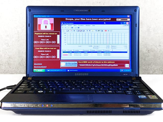 Este PC está infectado con seis virus más peligrosos de la historia se vende por un millón de dólares