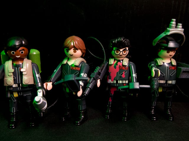 Playmobil's Ghostbusters Toys Gear Up For The Sequel