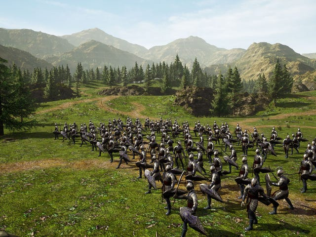 Lord Of The Rings Fans Are Remaking TheBattle For Middle Earth In Unreal Engine 4