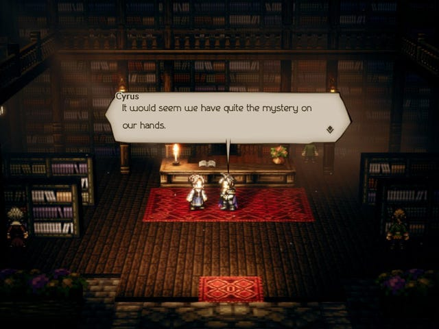 Octopath Travel Log: The Case of the Missing Book