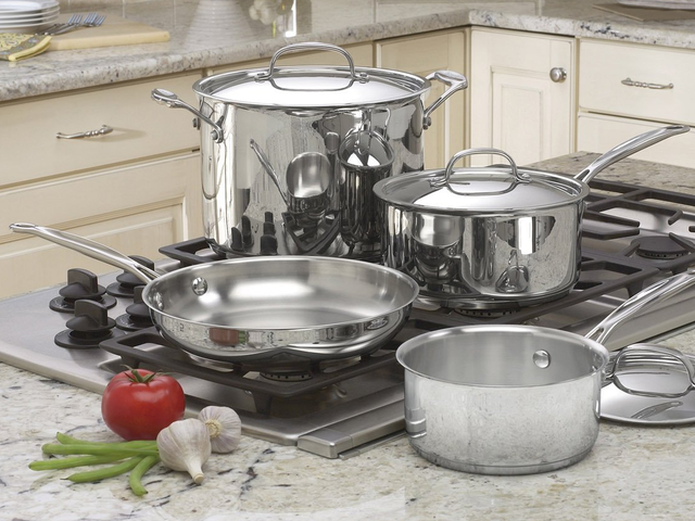 Grab Some New Cuisinart Stainless Steel Pots and Pans, Just $64