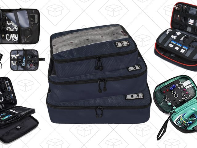 Pack Smarter, Not Lighter, With These Discounted Carry-On Bags and Organizers
