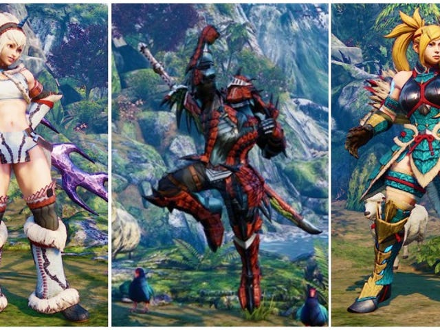 Monster Hunter: Kostum dunia datang ke Street Fighter V: Arcade Edition