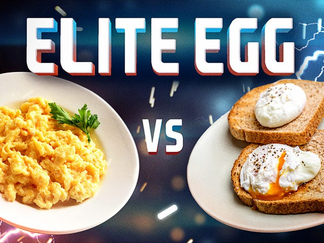 Elite Egg, final battle: Scrambled vs. poached