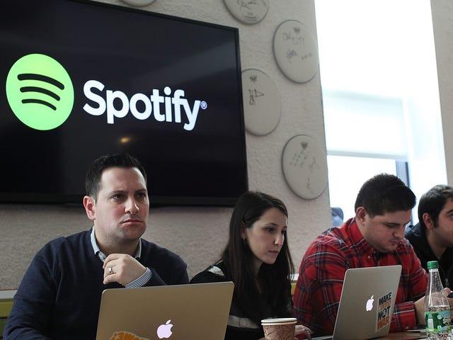 Spotify crée des listes de lecture sexistes
