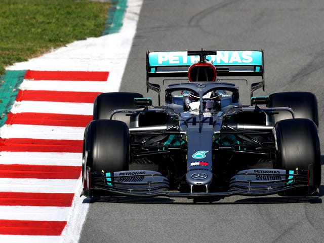 Two Days Into F1 And Mercedes Has A New Part That Definitely Looks Illegal