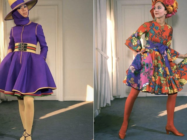 These 1960 Models Say You Need to Wear Brighter Colors for Winter