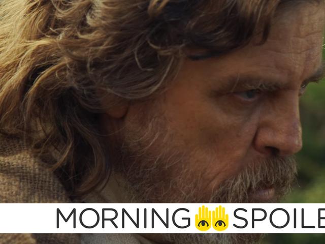 Thêm Luke Skywalker manh mối trong <i>Star Wars Episode VIII</i> mới <i>Star Wars Episode VIII</i>