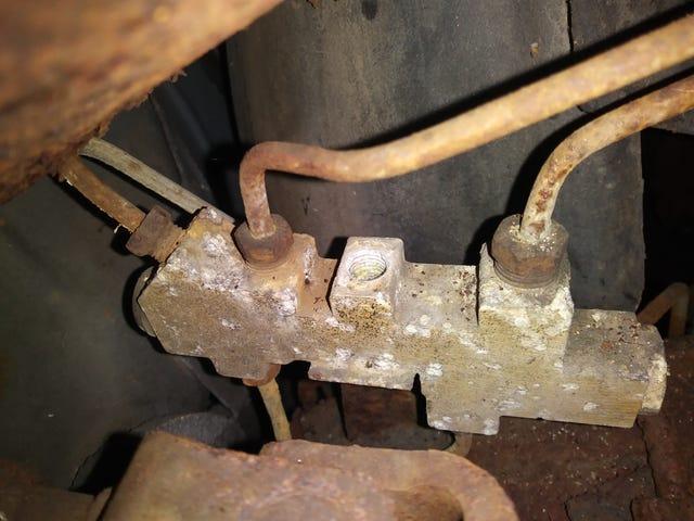 Unobtainium wagon part.
