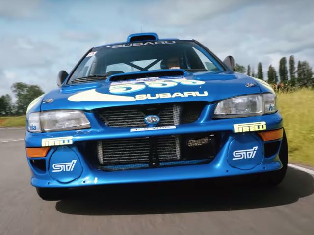 Colin McRae's 1997 Rally Subaru Is Still Down To Throw Down