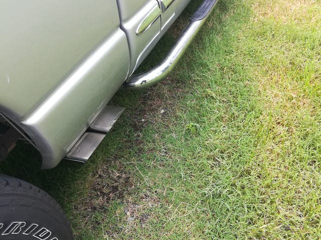 After routing my exhaust through me bed I decided to route it out the side.
