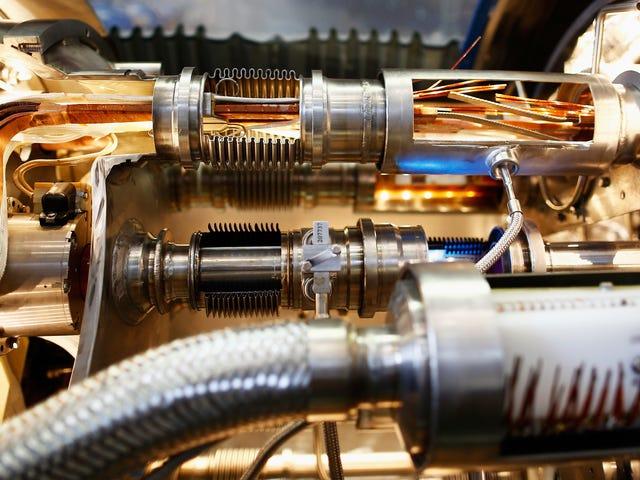 粒子碰撞器听起来像什么?