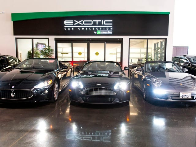 Exotic Car Collection by Enterprise is an expensive joke that makes even Turo look good