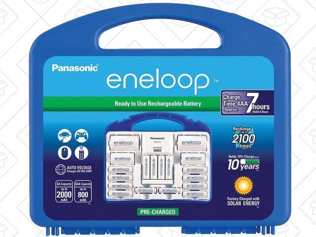 Your Favorite Batteries Back On Sale: Get Eneloop's Super Power Pack For $45