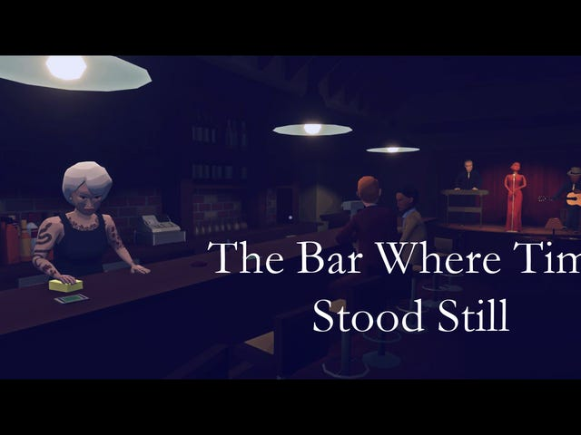 Virginia and The Bar Where Time Stood Still