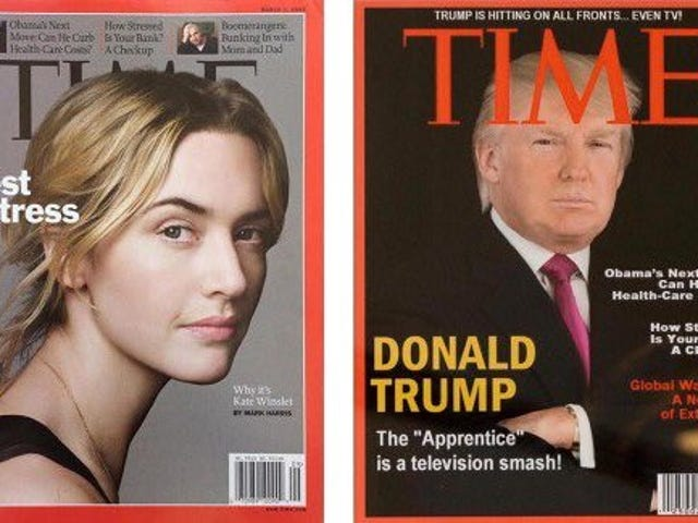 Fake Time Magazine Cover Featuring Trump Discovered Hanging at Trump Golf Clubs