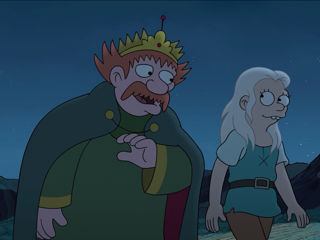 Disenchantment tells a sweet father-daughter story set against shaky diplomatic relations