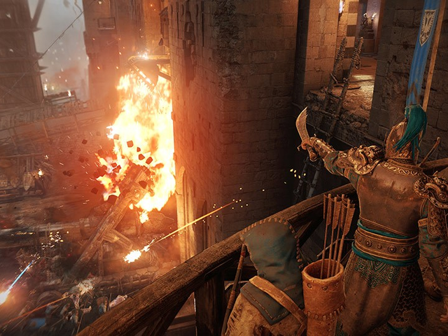 Castle Sieges Bring A New Level Of Strategy To For Honor's Multiplayer