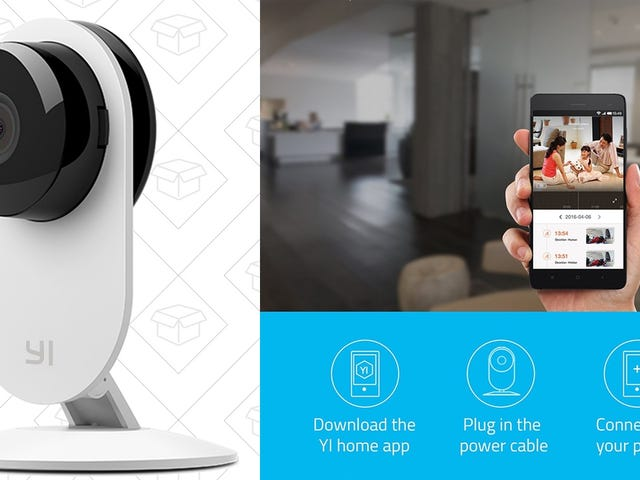 Monitor Your Home From Anywhere With Yi's $20 Wi-Fi Security Cameras