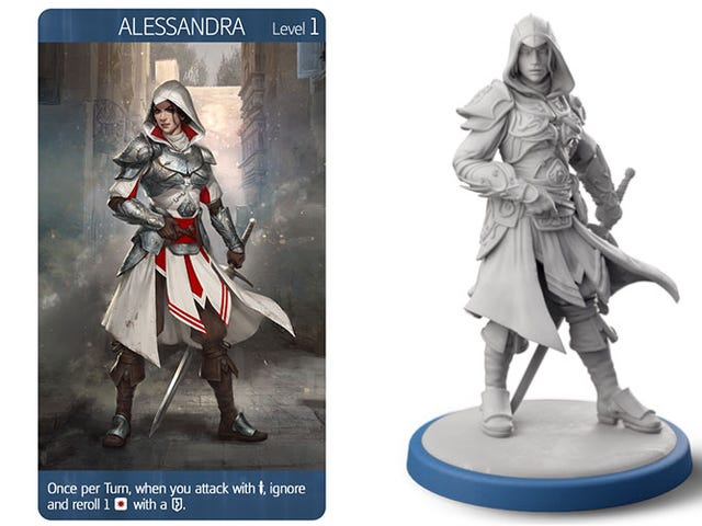 New Assassin's Creed Board Game Has Miniatures, A Campaign And An Ezio Cameo