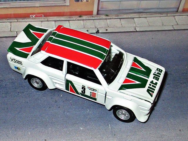 Σπαγγέτι Σάββατο: Ράλι της Fiat Abarth 131