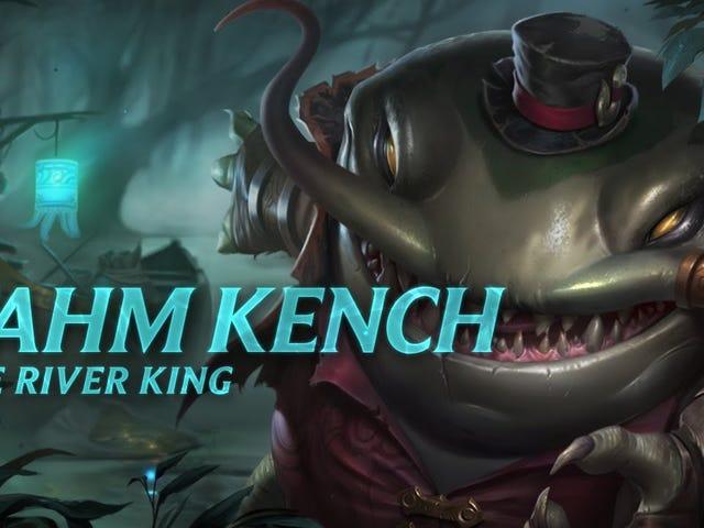 Kerusuhan hanya memadamkan sorotan juara untuk juara lele raksasa Tahm Kench yang akan datang