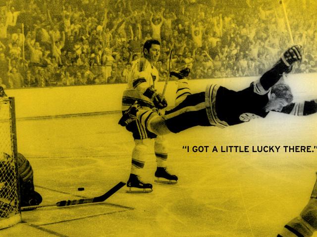 Die Geschichte hinter Hockeys berühmtestem Foto