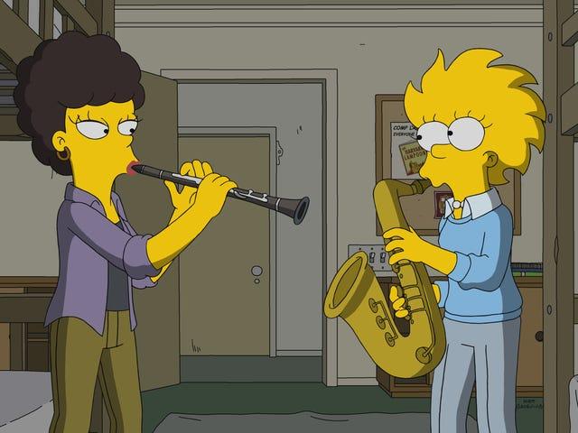 Un Simpsons inerte vuelve al futuro de Lisa, y pasado, sin ninguna razón discernible
