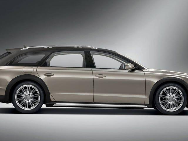 Tässä on hyvä idea: W12 Audi A8 -vaunu