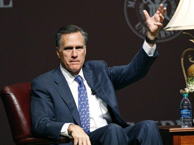 """Mitt Romney non pensa che """"legami pieni di donne"""" lo abbiano perso"""
